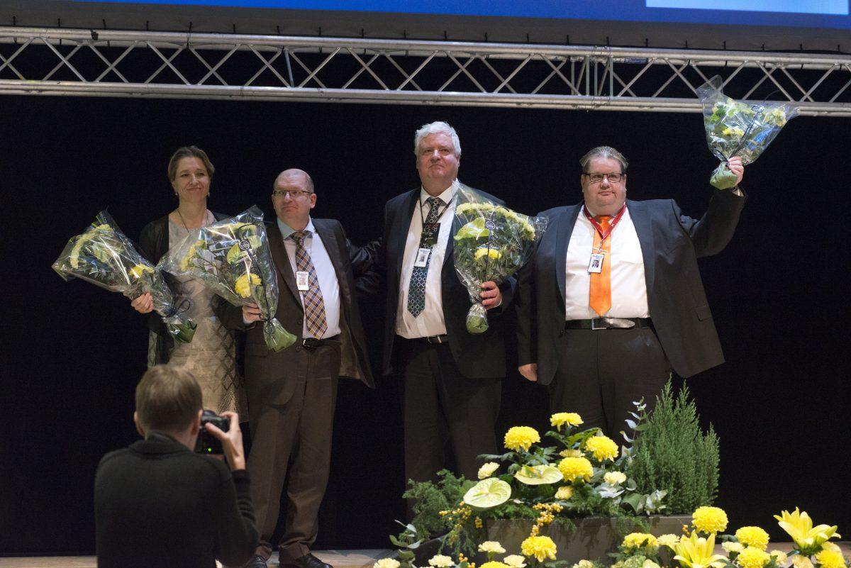 Riku Aalto valdes till Industrifackets ordförande – Turja Lehtonen första vice