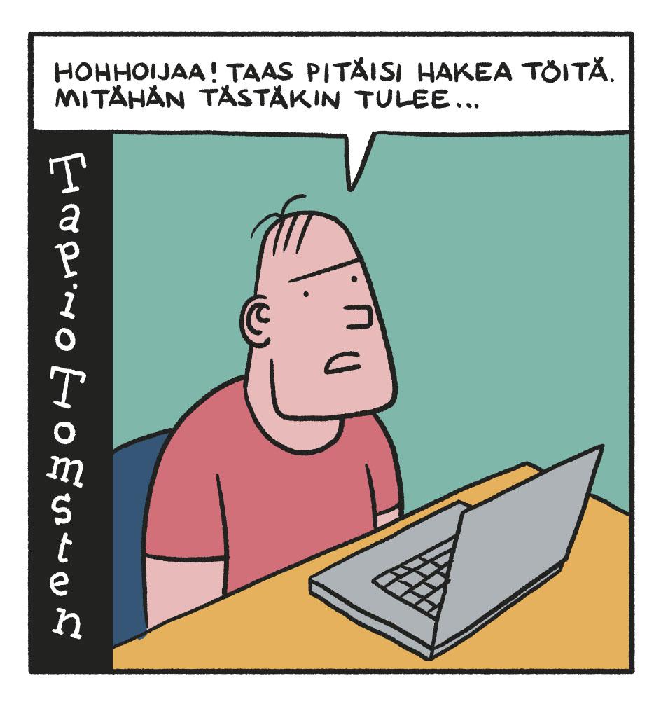 SARJAKUVA: Tapio Tomsten 4/2018