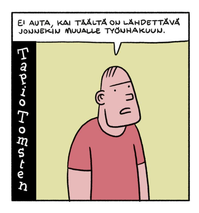 SARJAKUVA: Tapio Tomsten 5/2018