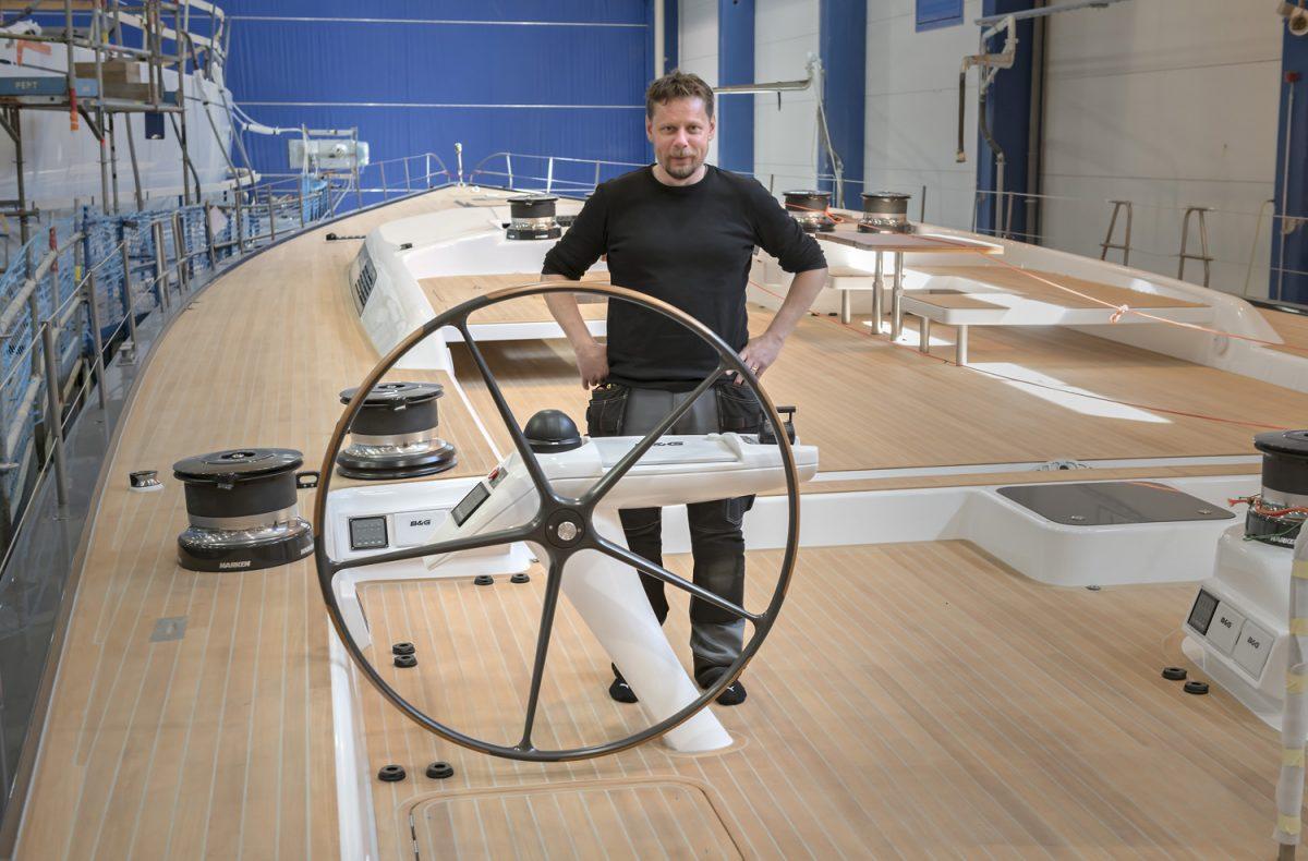 Segelbåtstillverkaren Nautor har vind i seglen