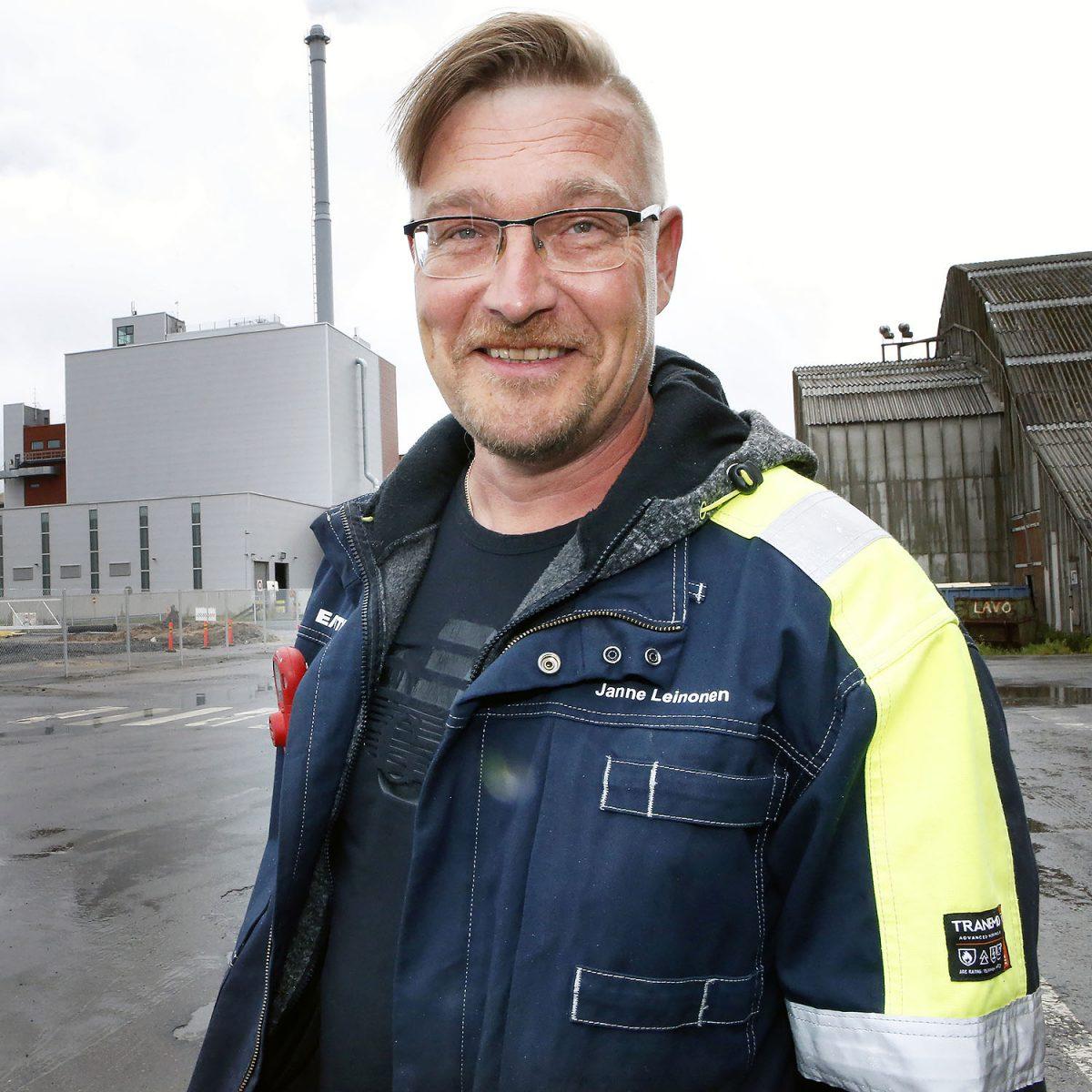 """TOIMIJA: Janne Leinonen: """"Peruskemian ja kotiseudun puolesta"""""""