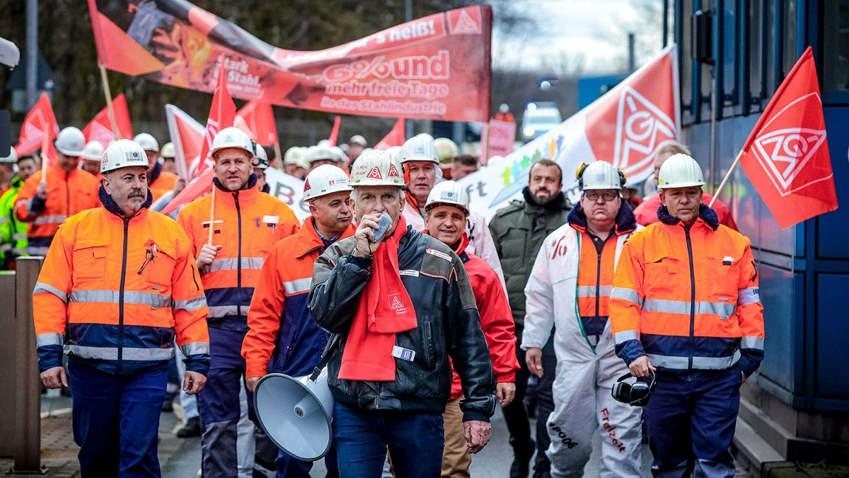 Saksassa sopimusvuosi alkoi reiluilla palkankorotuksilla – 3,7%, 4,9%, jopa 5,5% lisää liksaa