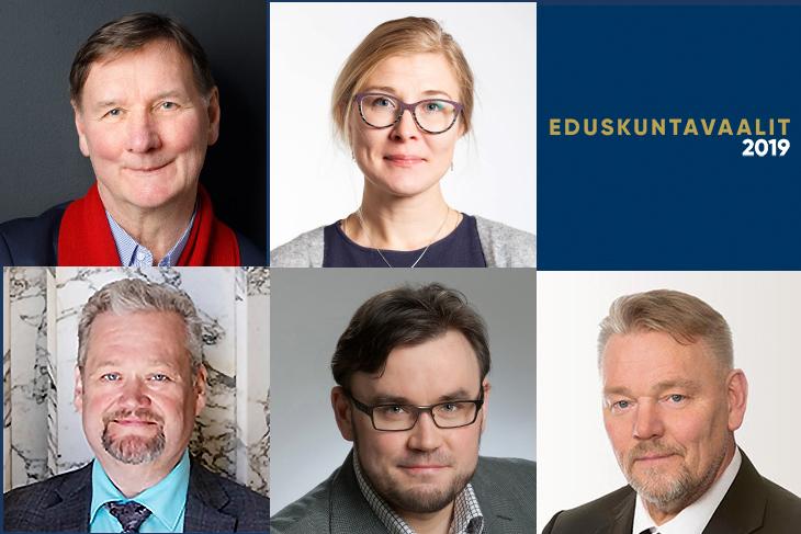 Teollisuusliiton uudet kansanedustajat: Aktiivimalli kumottava