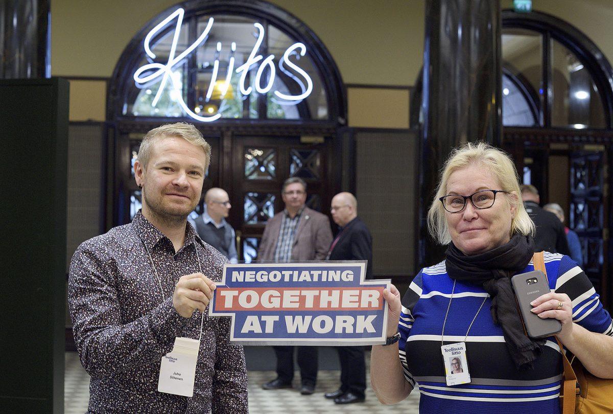 Kunnon työn päivän seminaari: Euroopan työnantajat hyökkäävät sopimista vastaan