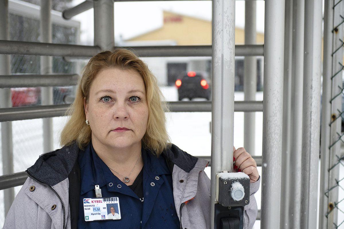 """LAKKO 9.–11.12.: Kyrelin pääluottamusmies Heidi Koivisto: """"Lakko pitää, jos lakko tulee"""""""