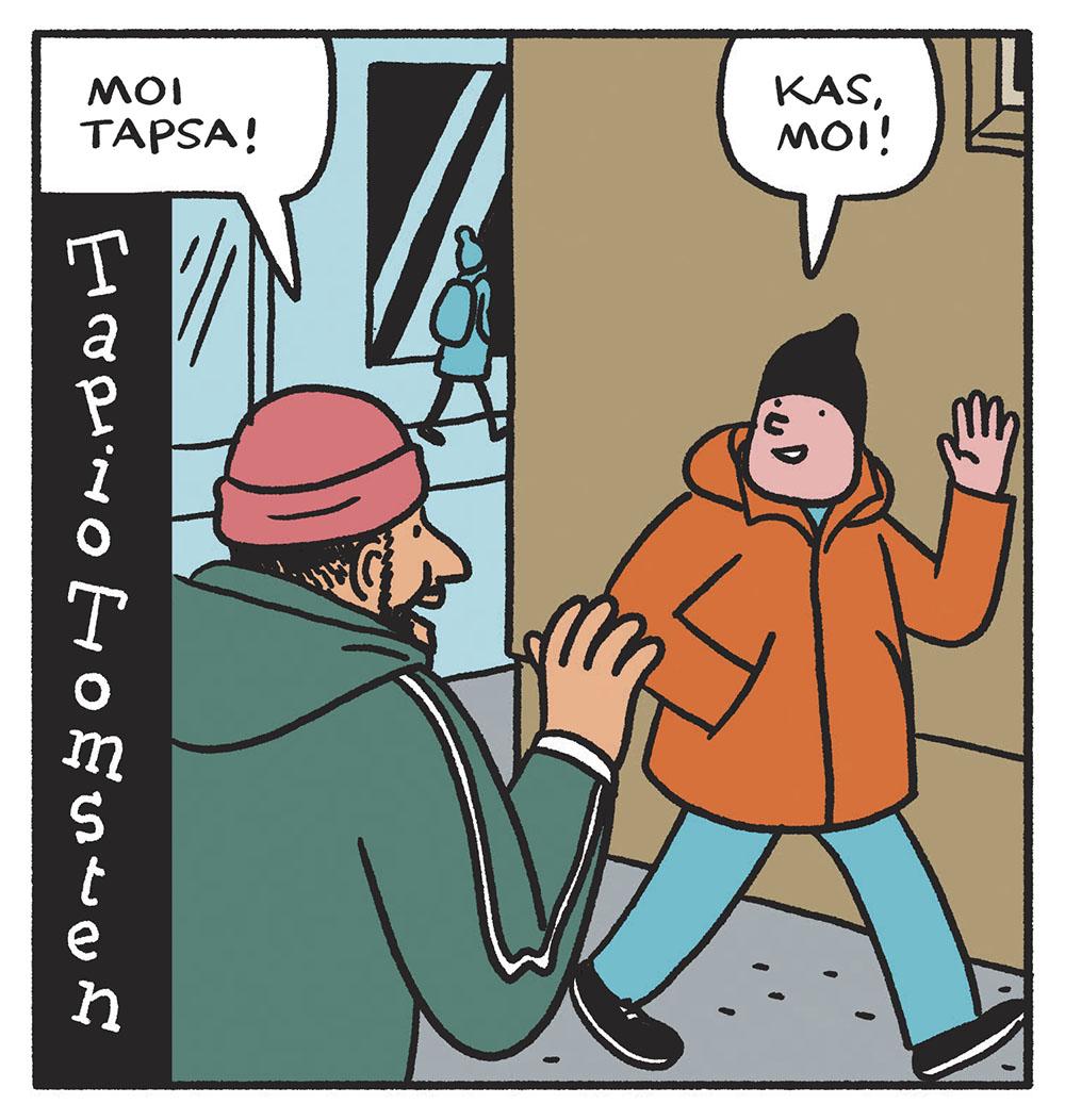 SARJAKUVA: Tapio Tomsten 11/2019