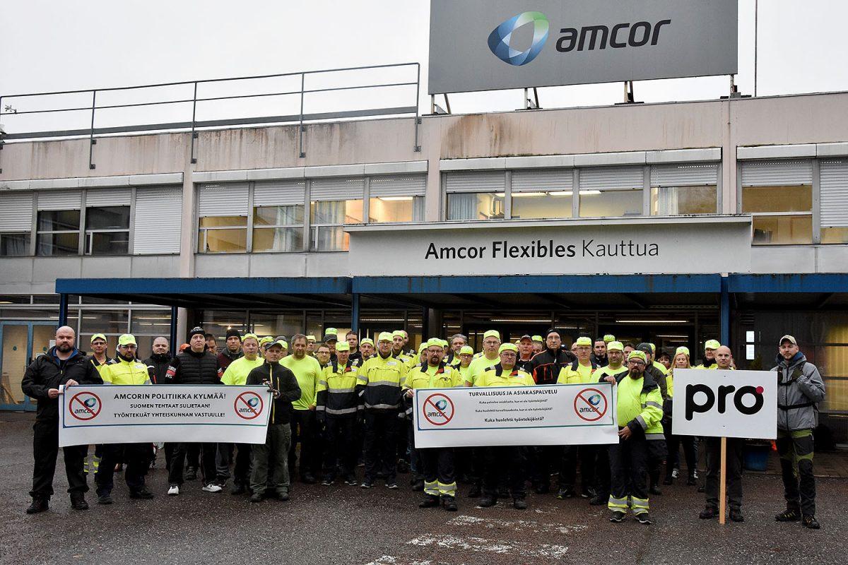 """Amcor sulkee Kauttualla ja Lieksassa – Pääluottamusmies: """"Säästöohjelmamme ei kelvannut työnantajalle"""""""