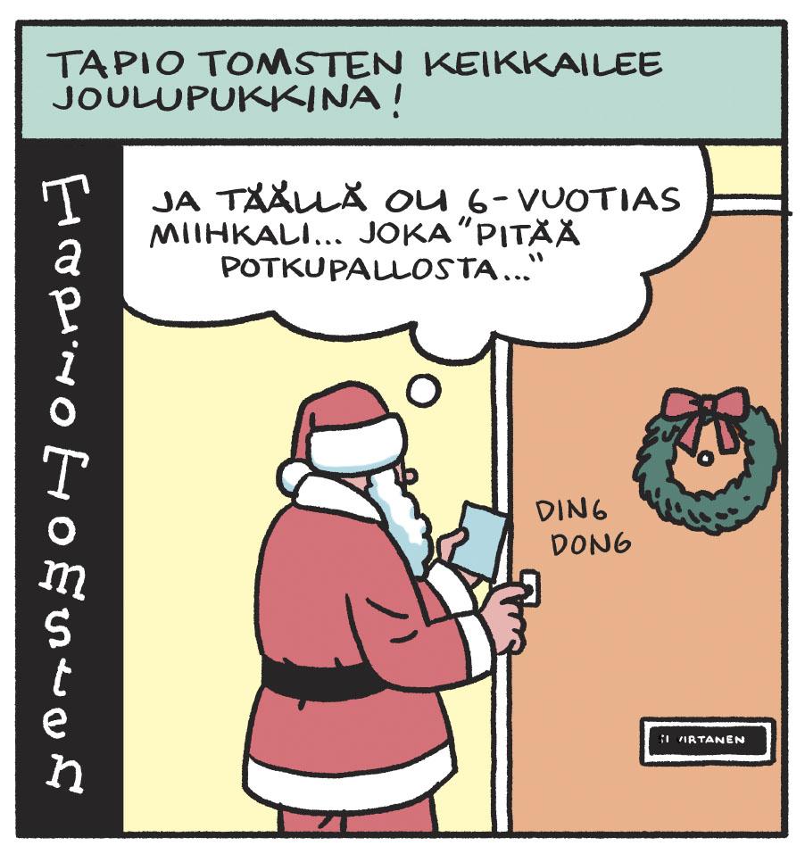 SARJAKUVA: Tapio Tomsten 12/2019