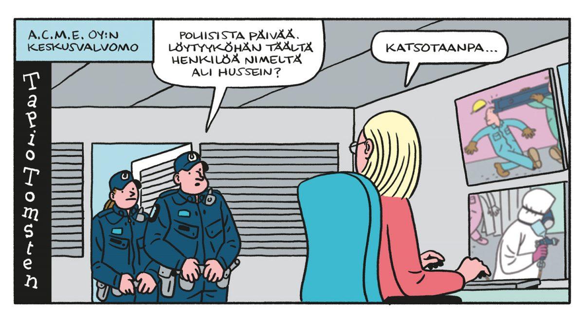 SARJAKUVA: Tapio Tomsten 2/2020