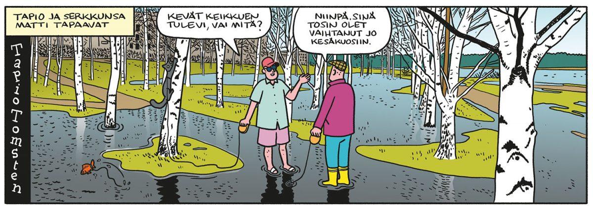 SARJAKUVA: Tapio Tomsten 3/2020
