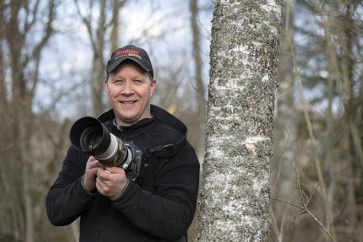 """HARRASTAJA: Lintuharrastaja Sami Laukkanen: """"Pitkä putki ja kiikari kulkevat aina mukana"""""""