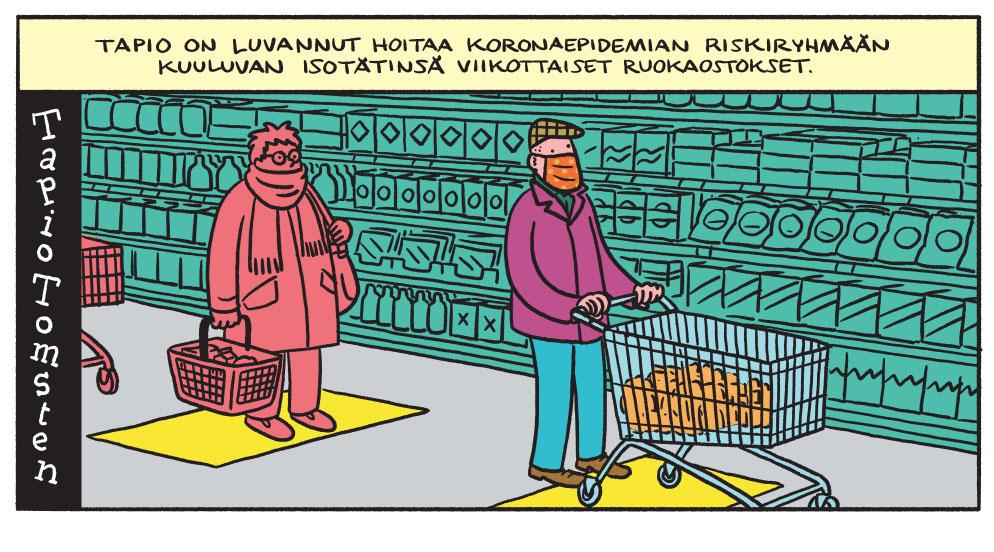 SARJAKUVA: Tapio Tomsten 5/2020