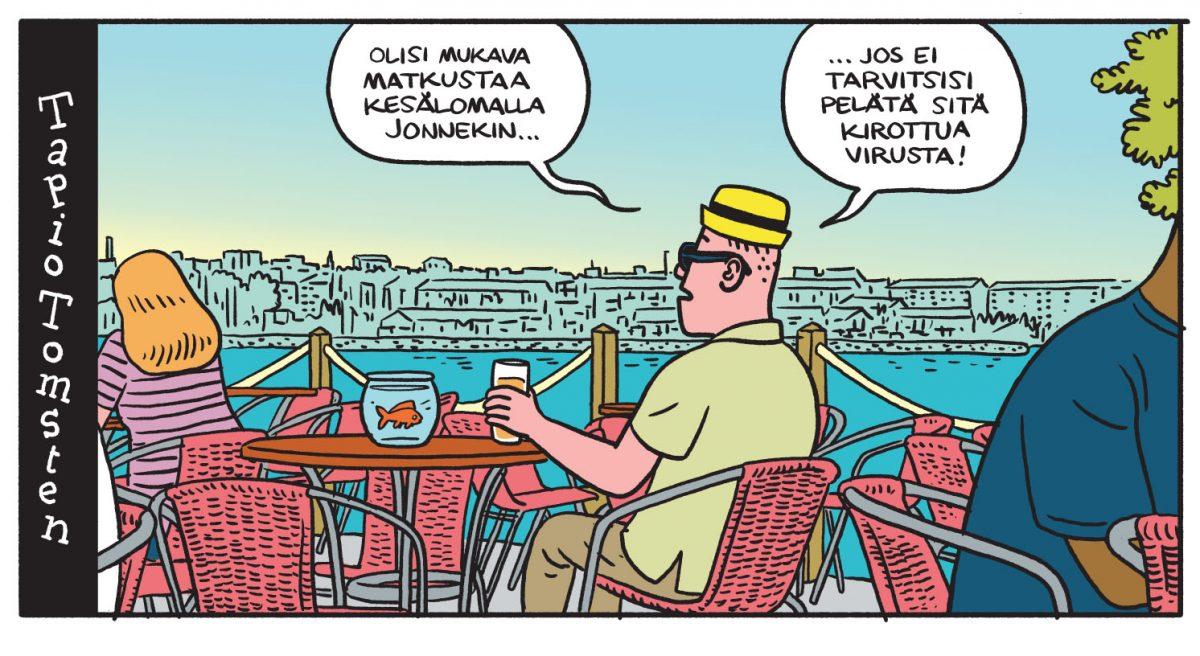SARJAKUVA: Tapio Tomsten 6/2020