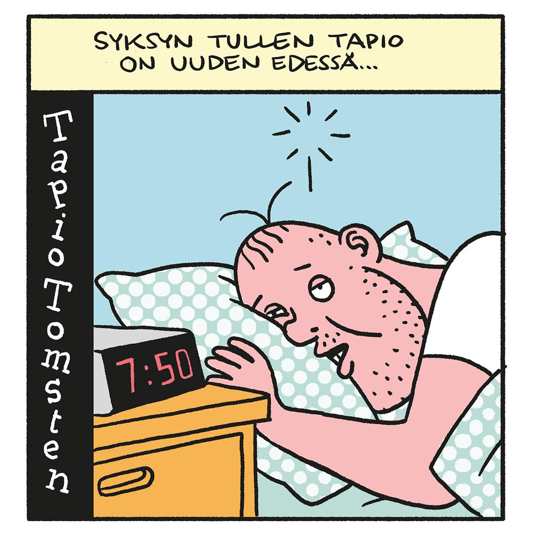 SARJAKUVA: Tapio Tomsten 8/2020