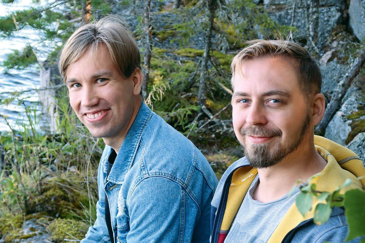 "OIVALTAJAT: Juho Kallio ja Juhani Rinne: ""Toiminta ja lepo tasapainoon"""