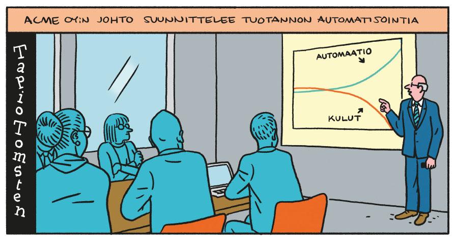 SARJAKUVA: Tapio Tomsten 11/2020