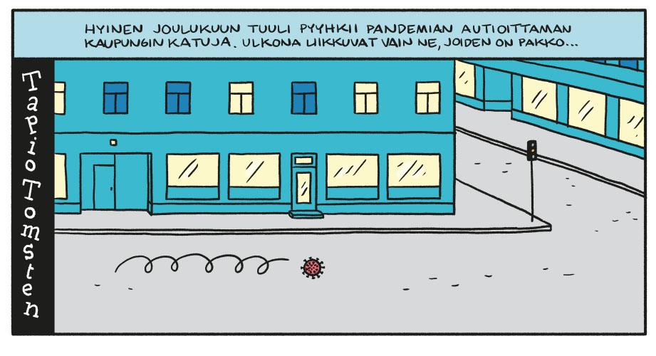 SARJAKUVA: Tapio Tomsten 12/2020
