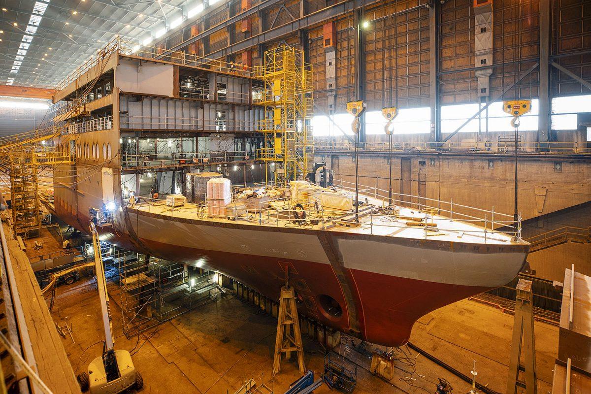 REPORTAASI: Laivoja 155 vuoden kokemuksella – Telakka pysyy keskellä Helsinkiä