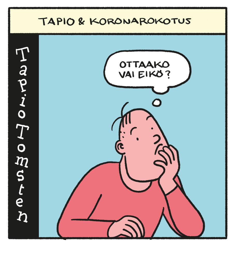 SARJAKUVA: Tapio Tomsten 1/2021