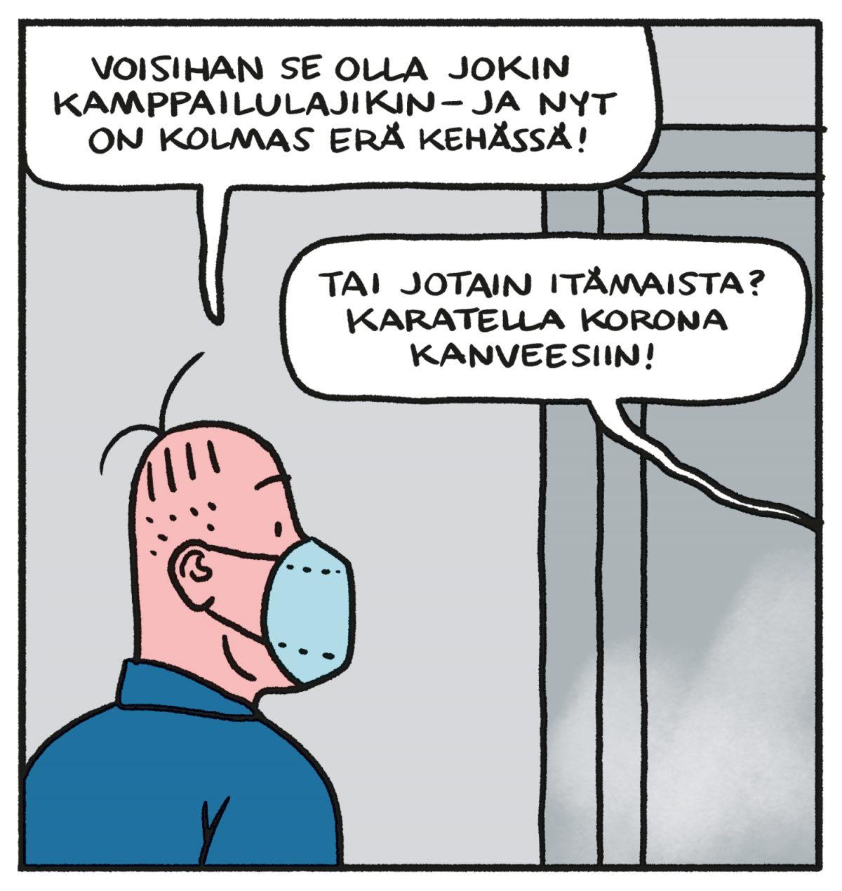 SARJAKUVA: Tapio Tomsten 3/2021