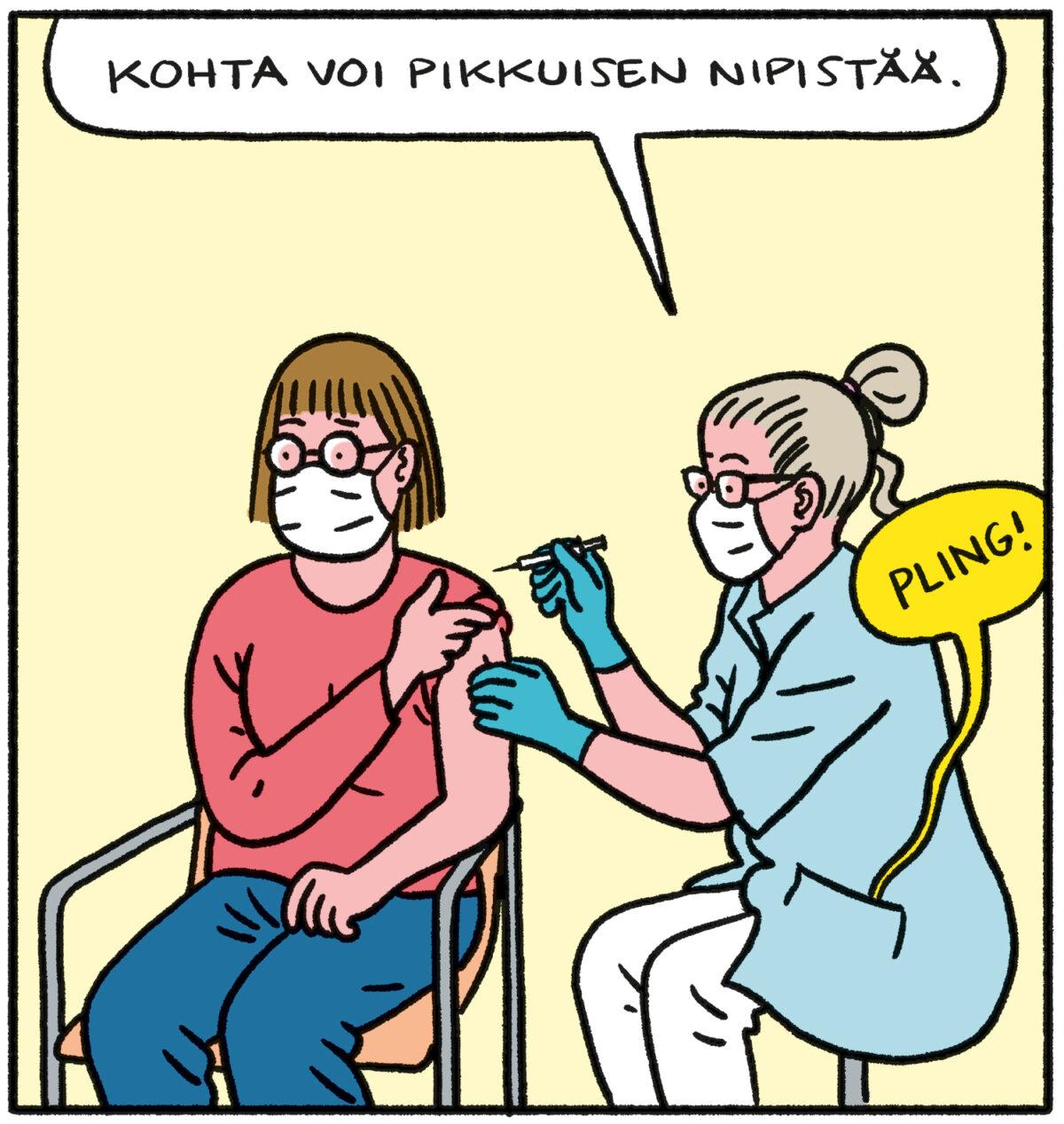 SARJAKUVA: Tapio Tomsten 4/2021