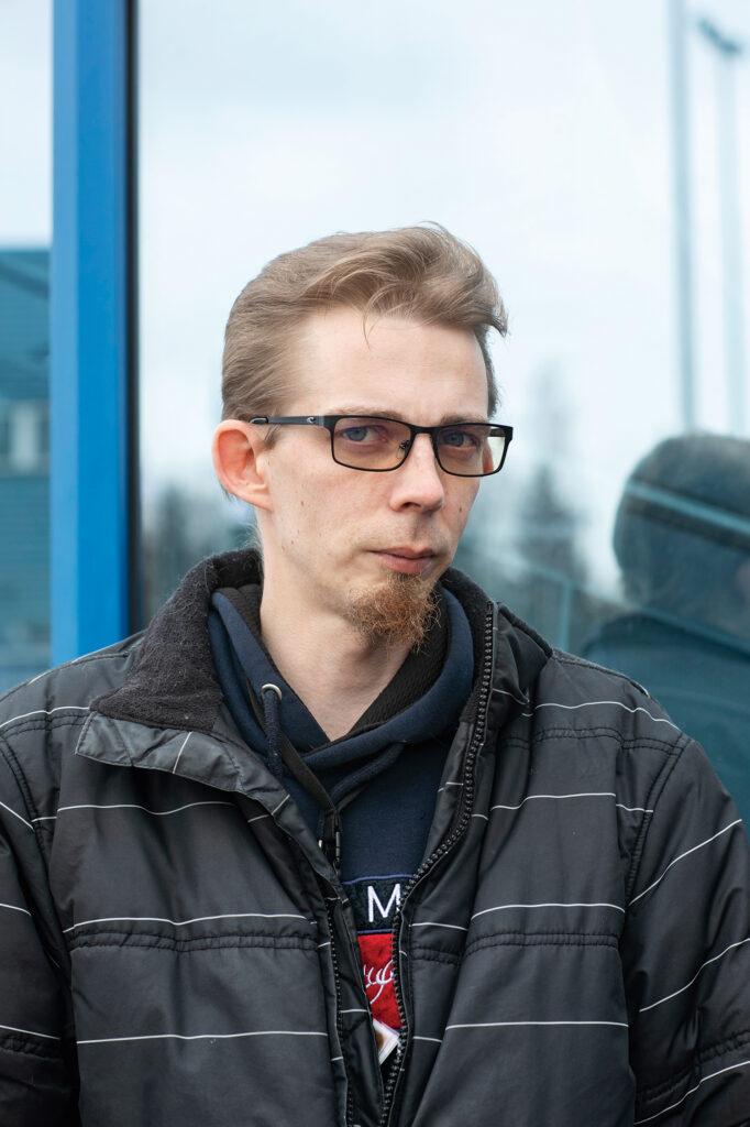 Pääluottamusmies Jarkko Leppänen