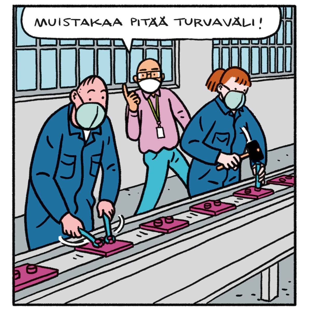SARJAKUVA: Tapio Tomsten 5/2021