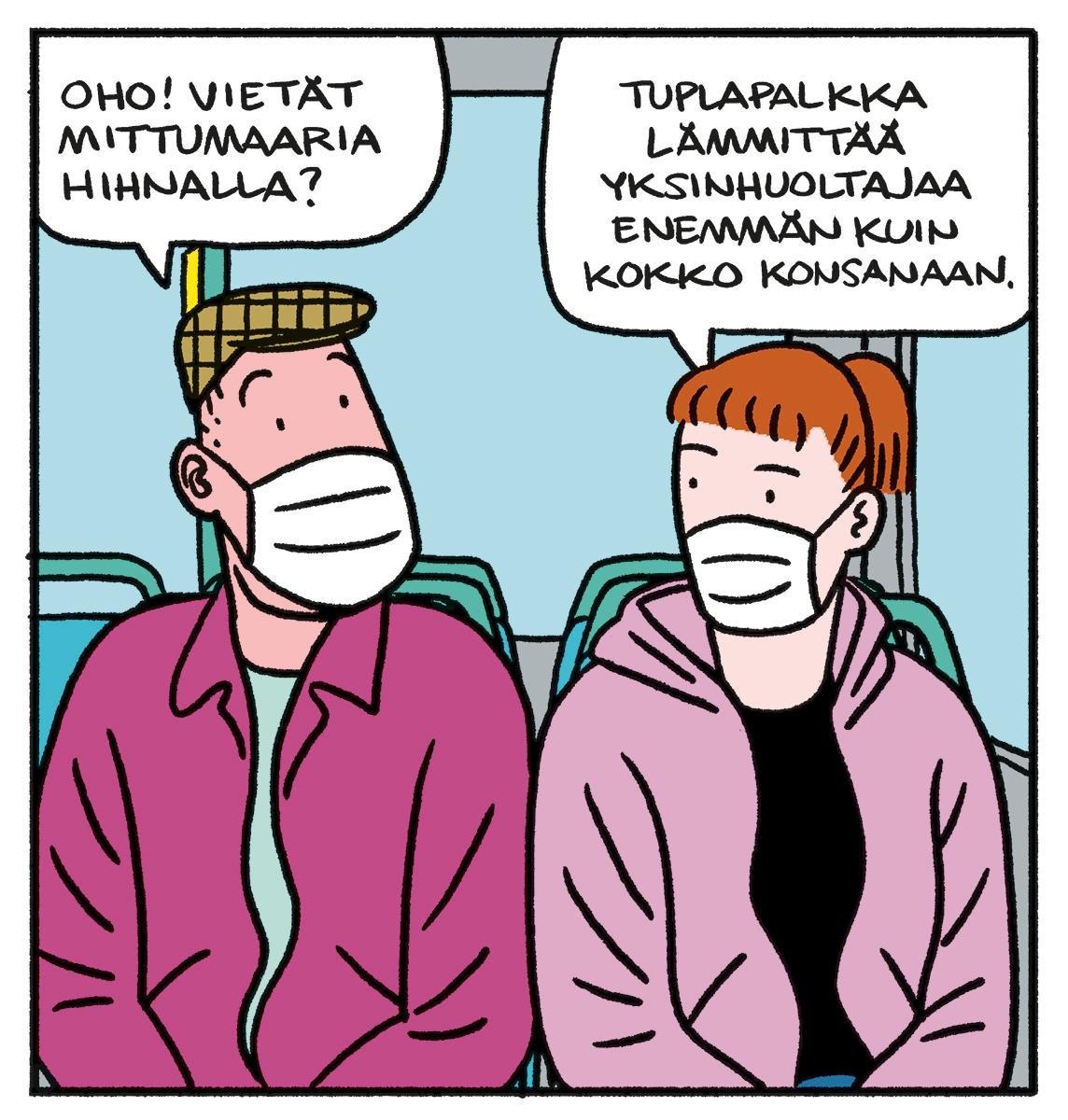 SARJAKUVA: Tapio Tomsten 6/2021
