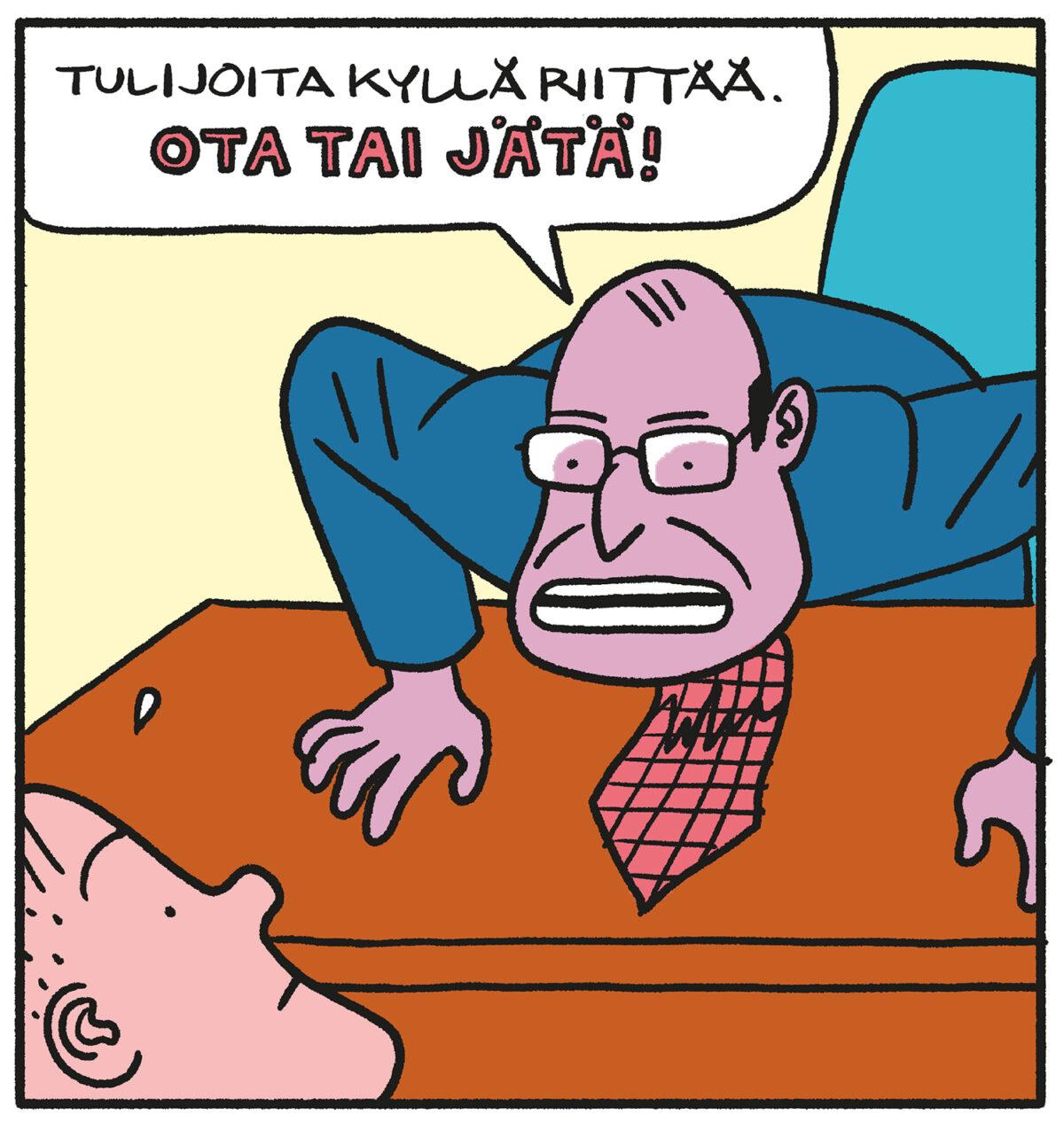 SARJAKUVA: Tapio Tomsten 8/2021