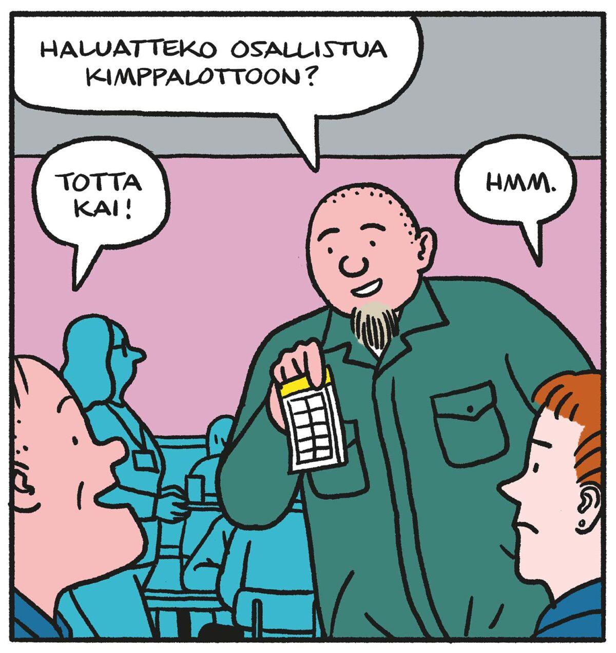 SARJAKUVA: Tapio Tomsten 10/2021
