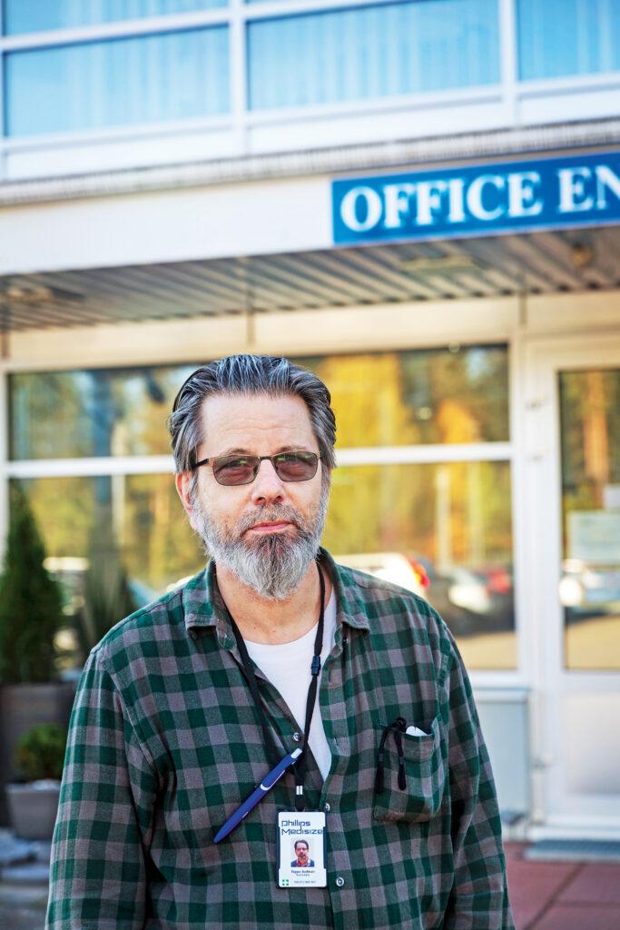 Työsuojeluvaltuutettu on palveluammatissa, jossa pääsee auttamaan kaveria, Teppo Suikkari sanoo.